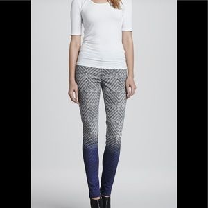 NEW J Brand | Armature P Skinny Ombré Jean Graphic